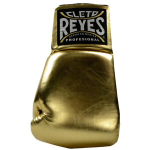 "Cleto Reyes Giant 21"" Collectible Autograph Boxing Glove - Left Hand - Gold"