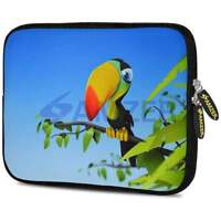 AMZER 7.75 Inch Neoprene Designer Sleeve Cover for Tablets - Toucan World