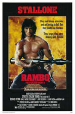 Rambo First Blood Part II Original Rolled 27x41 Movie Poster Sylvester Stallone