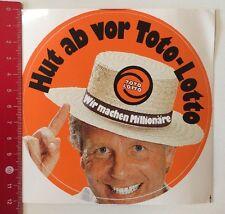 ADESIVI/Sticker: TOTO LOTTO-facciamo milionari-CAPPELLO (080316199)