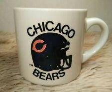 Vintage Ponderosa Restaurant Chicago Bears Commemorative Edition Coffee Mug Cup
