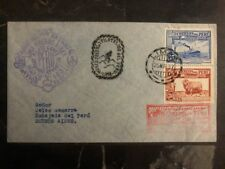 1937 Lima Peru First Flight cover FFC to Buenos Aires Argentina