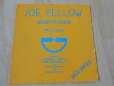 """Joe Yellow Lover To Lover  1983 Italian 12""""    Italo Disco"""