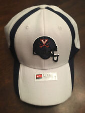 NWT University of Virginia UVA Cavaliers Football Helmet White Nike Large XL Hat