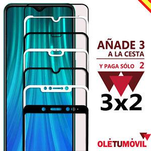 Protector de Pantalla 3D Xiaomi Redmi 4x / 6 / 7 / 7A Cristal templado