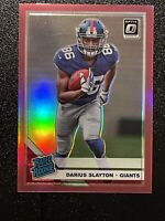 2019 Optic Darius Slayton Rated Rookie RC Pink Prizm