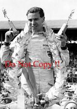 Jim Clark Lotus 25 Winner British Grand Prix 1963 Photograph 4