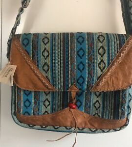 Ethical Trade Shoulder Bag made in Nepal