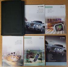 GENUINE JAGUAR S-TYPE 2004-2007 HANDBOOK OWNERS MANUAL WALLET AUDIO PACK G-340