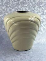 Large Vintage Glazed Antique White Ceramic Porcelain Decorative Vase Urn Pot