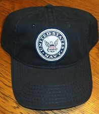 "Mens U.S. Navy Hat Cap Adjustable ""Not For Self But for Country"" nwt"