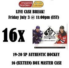 19-20 SP AUTHENTIC 16 (SIXTEEN) BOX CASE BREAK #1774 - Montreal Canadiens