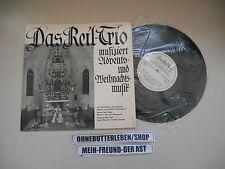 LP Pop Reil-Trio - Musizieren Advents- u Weihnachtsmusik (11 Songs) ENGELSMANN