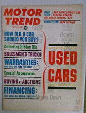 Motor Trend Magazine 1965 June Used Car Guide Gto Caprice Coronet Whippet
