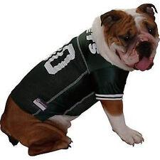 NFL New York Jets Pet Wear Team Jersey Green Dog Costume Boxer Poodle Doberman L