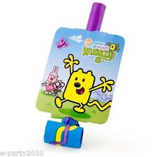 WOW! WOW! WUBBZY BLOWOUTS (8) ~ Birthday Party Supplies Paper Favors Nick Jr