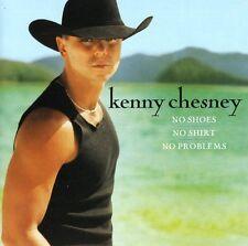 KENNY CHESNEY No Shoes, No Shirt, No Problems CD BRAND NEW Bonus Track