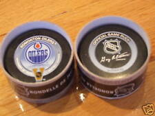 2003 1ST WINTER HERITAGE CLASSIC PUCK OILERS CANADIENS