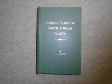Common Names of South African Plants (Botanical Survey Memoir No 35)