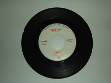 "Valdy / Yes I Can - Disco Vinile 45 Giri 7"" PROMO STAMPA USA 1976"
