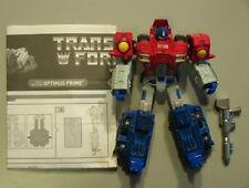 Transformers 2006 Titanium Dark Ages Optimus Prime 100% Compl w/Instr C-6 Hasbro