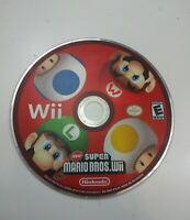 Super Mario Bros Nintendo Wii Game Pre Owned Tested Working Disc Only