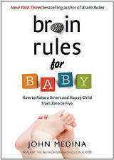 BRAIN RULES FOR BABY...CD AUDIO..7 X DISCS...NEW & SEALED    V4