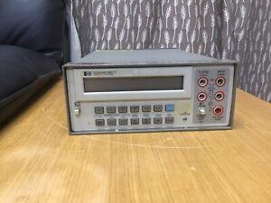Hewlett Packard 3478A Multimeter AE1234 Digital Test Multimeter Display HP-IB