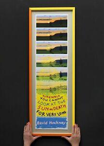 David Hockney Art Ed 3,000 Lithograph Print Poster Screenprint 2021 Circa Art