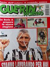 Guerin Sportivo n°30 1995 Poster Dario SILVA Cagliari   [GS48]