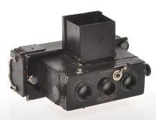 Voigtlander Stereflexktoskop Stereo 45x107 with Heliar 62/4.5 c.1920, sold as is