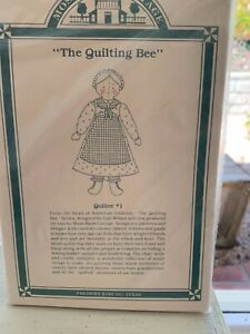 RARE ❤️ HITTY Doll The Quilting Bee Quilter #1 mKit BY Gail Wilson Moss Bank ❤️