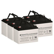 Topaz 83265-01 Replacement Battery Set By SigmasTek - 12V 35AH NB AGM