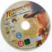 Indiana Jones & The Last Crusade DVD R2 PAL - Harrison Ford Movie DISC ONLY