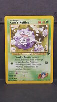 Koga's Koffing 79 Gym Challenge Common Pokemon Card Near Mint