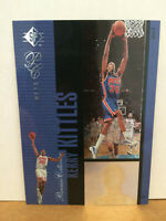 1996-97 SP Premium Collection PC24 Kerry Kittles RC rookie card hologram rare NM