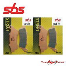 SBS Street Sinterizzate Anteriore Pastiglie Freno 735HS per Honda NT650V