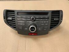2010 HONDA ACCORD MK8 STEREO NAVIGATION CD RADIO CONTROL UNIT  PANEL WITH VENTS