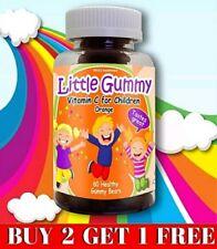 Manten a Tu Niño Saludable VITAMINA C  (60 Gomitas) 100% Natural