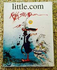 LITTLE.COM-RALPH STEADMAN-SPECIAL LIMITED EDITION-No. 79/300-Signed and Numbered