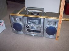 VINTAGE Aiwa CA-DW535 AM/FM Radio Dual Cassette Portable Stereo Boombox
