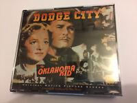 DODGE CITY / THE OKLAHOMA KID (Max Steiner) OOP BYU Ltd Score OST Soundtrack CD