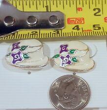 Miniature Fashion Jewelry Earrings Ladies Hat design Enamel Beautiful different