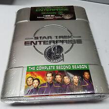 Star Trek Enterprise The Complete Second Season 2 7 Disc  DVD Set New