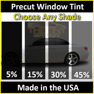 TINTGIANT PRECUT FRONT DOORS WINDOW TINT FOR GMC SIERRA 1500 EXT 07-13