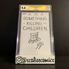 Something is Killing the Children 11, BOOM, CGC 9.8 SS Sketch by James Tynion