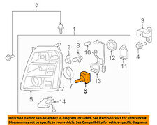 GM OEM-Headlight Headlamp Bulb 25735604