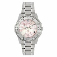 Rotary Women's Silver Case Wristwatches