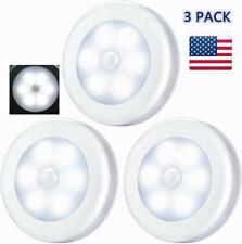 3PCS Portable Magnetic Stick Motion Sensor Light LED Night Light Step Lights