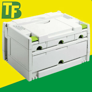 Festool Systainer 491522 SYS 3-SORT/4 (4 Drawer Sortainer)